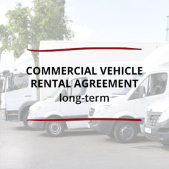 CONTRACT Commercial Vehicle Rental Agreement–Long term Saved For Web