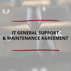 IT General Support Maintenance Agreement Saved For Web