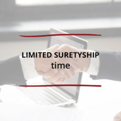 Limited Suretyship–Time Saved For Web