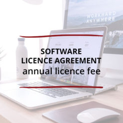 Software Licence Agreement–Annual Licence Fee Saved For Web