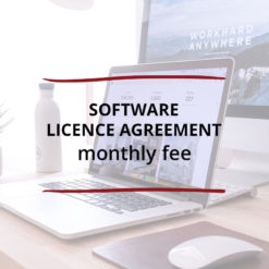 Software Licence Agreement–Monthly Fee Saved For Web