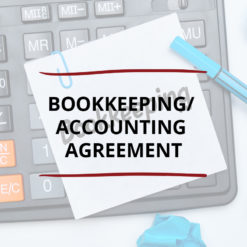 AO product image   CONTRACT   Bookkeeping Accounting Agreement