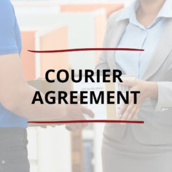 AO product image   CONTRACT   Courier Agreement