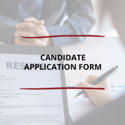 Candidate Application Form Saved For Web
