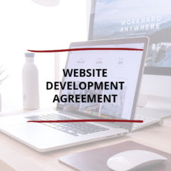 Website Development Agreement Saved For Web