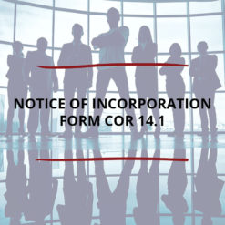 Notice of Incorporation Form CoR 14 Saved For Web2