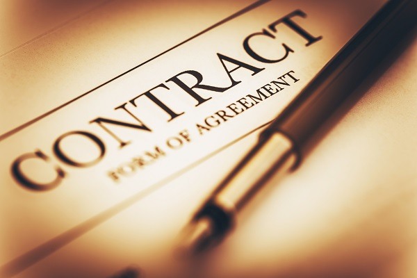 Contract form of Agreement