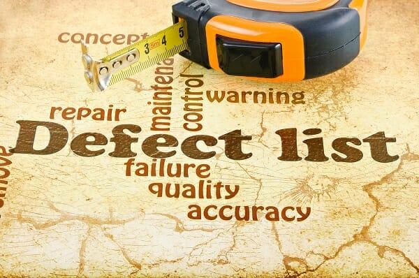 Defect List