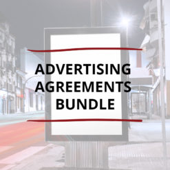 AO product image   CONTRACT   Advertising Agreements Bundle