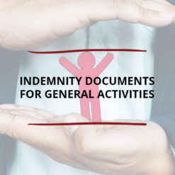Indemnity Documents for General Activities Saved For Web