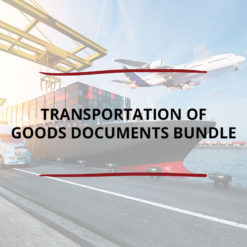 Transportation of Goods Documents Bundle Saved For Web