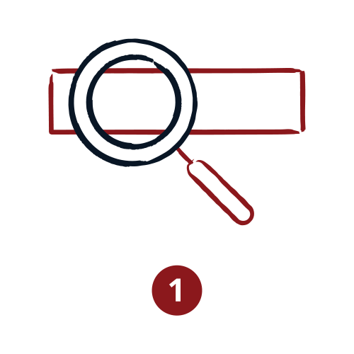 AO infographic icons paths 01search 2